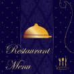 Restaurant Menu background — Stock Photo