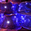 Stock Photo: Hats decorated with sequins.