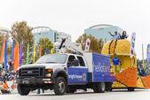 Orlando USA, December 30, 2013 - Florida Citrus Parate. — Stock Photo