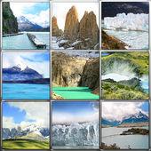 Perito Moreno Collage, Argentina , Patagonia — Foto de Stock