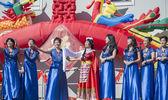 Orlando florida usa - Capodanno cinese 9 febbraio 2014 — Foto Stock