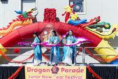 Orlando florida Abd - Çin yeni yılı 9 Şubat 2014 — Stok fotoğraf