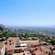 Panorama of the City of Palermo from Monreale — Stock Photo