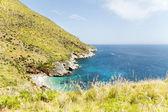 Riserva naturale dello zingaro, sicilia, italia — Foto Stock