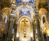 San Cataldo Church, Palermo, Sicily, Italy — Stock Photo