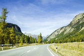 State road in the mountain, Italy — Stock Photo