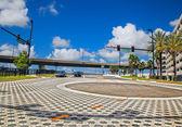Orlando street, Florida — Stock Photo