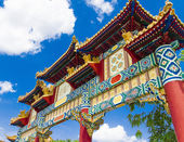 Chinese pavilion in Epcot, Orlando Florida — Photo