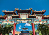 Chinese Pavilion in Epcot, Orlando — Stock Photo