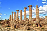 Valley of the Temple, Agrigento, Sicily, Italy — Stok fotoğraf