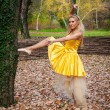Stock Photo: BallerinOutside