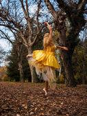 Ballerina Outside — Foto Stock
