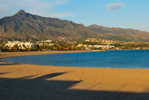 Marbella beach — Stock Photo