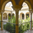 Stock Photo: Pinelo house in Seville