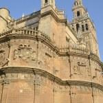 bela vista sobre a Catedral de sevilla — Foto Stock