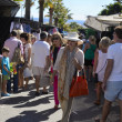Street market in Marbella - Stock Photo