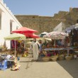 Asilah market - Stock Photo