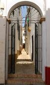 Gate street Carmona — Stock Photo