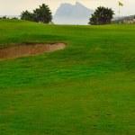 Golf course in Cadiz — Stock Photo