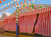 Caseta Seville fair — Stock Photo