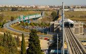 Seville metro — Stock Photo