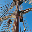 Rig of Galleon — Stock Photo