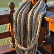 Rope galleon — Stock Photo
