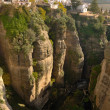 Ronda canyon — Stock Photo
