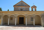 Building in the monastery — Stock Photo