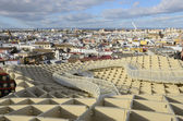 View of Seville from the Metropol Parasol — Stock Photo