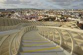 Walk in the Metropol Parasol — Stock Photo