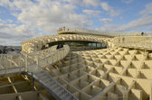 Walk in the Metropol Parasol, — Stock Photo