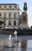 Statua grande capitano — Foto Stock