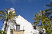 Blanca ermita — Foto de Stock