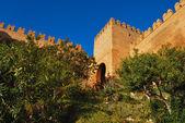 Tower in the Alcazaba — Stock Photo