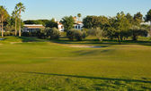Huis club golf — Stockfoto