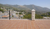 Balcony in Mijas — Stock Photo
