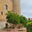 Zafra castle — Stock Photo
