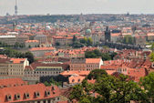 Panoramic of Prague — Stockfoto