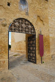 Entrance Castle Utrera — Stock Photo