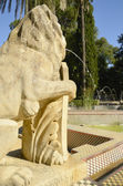 Fountain of lions — Stockfoto