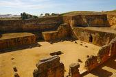 Roman necropolis — Stock Photo