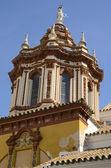 Cupola of Santa Catalina church — Stock Photo