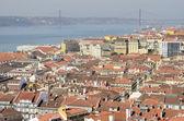 View of the city of Lisbon — Zdjęcie stockowe