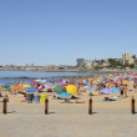 Beach of Estoril — Stock Photo