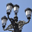 Iron streetlight — Stock Photo
