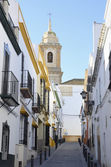 Charming Andalusian street — Stock Photo