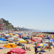 Summer day in the beach of Estoril — Stock Photo