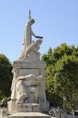 Monumento ai caduti — Foto Stock