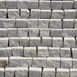 Rows of grey stones — Stock Photo